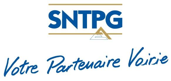 Logo SNTPG avec slogan